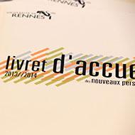 Livrets d'acceuil des nouveaux personnels Université Rennes 1